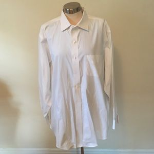 Bundle of 5 Brooks Brothers White Mens Dress Shirt